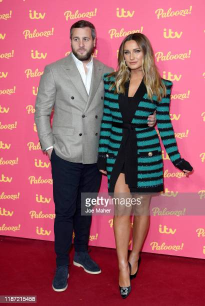 Sam Faiers and Paul Knightley attend the ITV Palooza 2019 at The Royal Festival Hall on November 12 2019 in London England