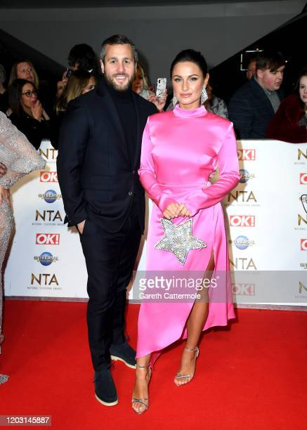 Sam Faiers and Paul Knightley attend the National Television Awards 2020 at The O2 Arena on January 28 2020 in London England