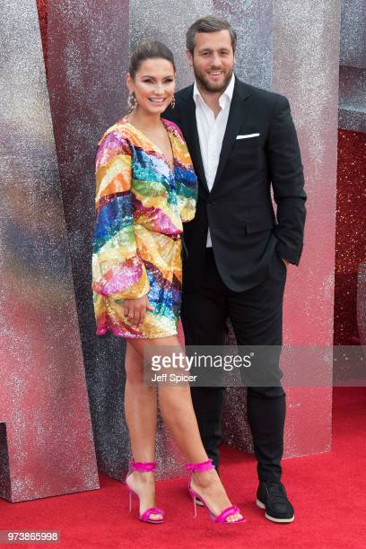 Sam Faiers and Paul Knightley attend the 'Ocean's 8' UK Premiere held at Cineworld Leicester Square on June 13 2018 in London England