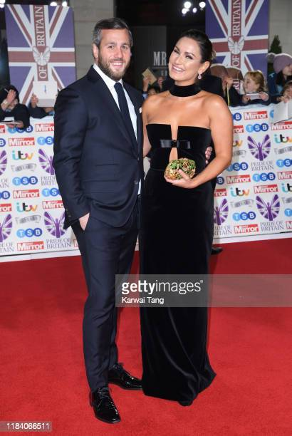 Sam Faiers and Paul Knightley attend the Pride Of Britain Awards 2019 at The Grosvenor House Hotel on October 28 2019 in London England