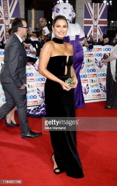 Sam Faiers attends Pride Of Britain Awards 2019 at The Grosvenor House Hotel on October 28 2019 in London England