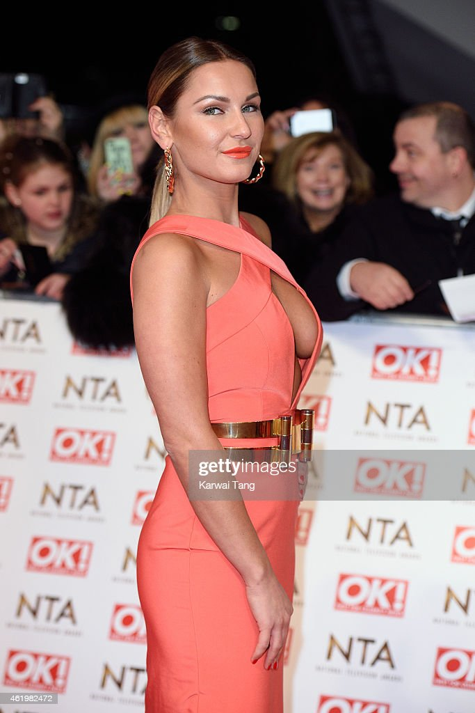 Sam Faiers attends the National Television Awards at 02 Arena on January 21, 2015 in London, England.