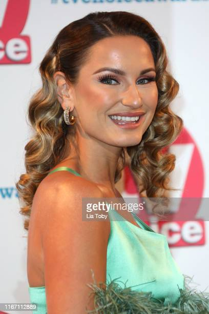 Sam Faiers attends The TV Choice Awards 2019 at Hilton Park Lane on September 9 2019 in London England