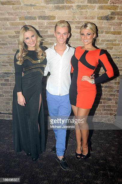Sam Faiers Harry Derbridge and Billie Faiers attend Porn Idol at GAY on November 15 2012 in London England