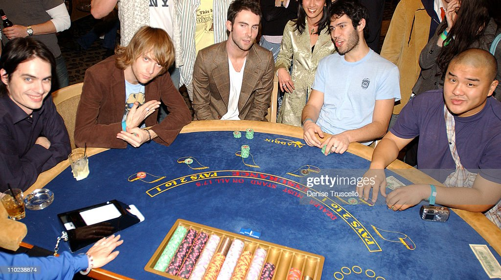 Maroon 5 After Party at The Aladdin Resort and Casino - January 1, 2005