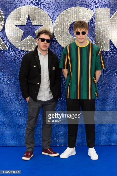 Sam Fender arrives for the UK film premiere of 'Rocketman' at Odeon Luxe Leicester Square on 20 May 2019 in London England