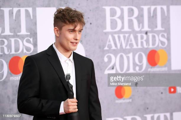 Sam Fender attends The BRIT Awards 2019 held at The O2 Arena on February 20 2019 in London England