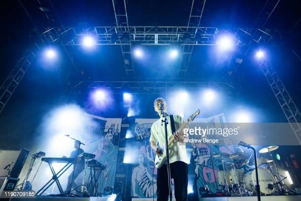 Sam Fender performs at O2 Academy Leeds on November 28 2019 in Leeds England