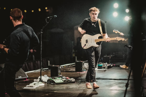 GBR: Sam Fender Performs At Virgin Money Unity Arena