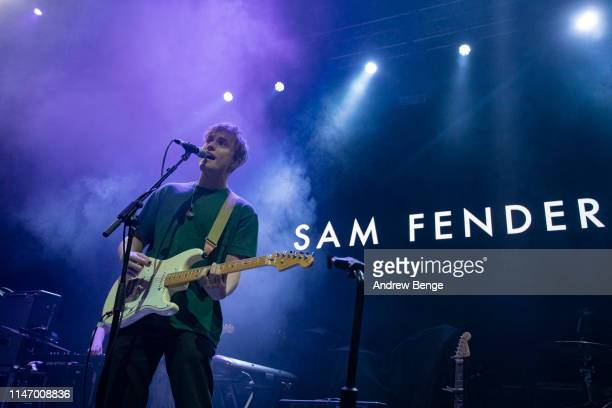 Sam Fender performs on stage at O2 Academy during Live At Leeds festival on May 04 2019 in Leeds England