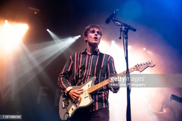 Sam Fender performs on stage at SWX on August 09 2019 in Bristol England