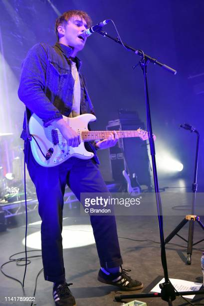 Sam Fender performs on stage at the O2 Shepherd's Bush Empire on May 6 2019 in London England