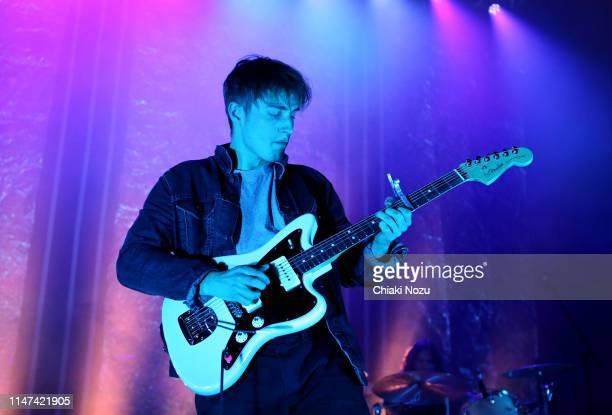 Sam Fender performs onstage at Shepherd's Bush Empire on May 06 2019 in London England