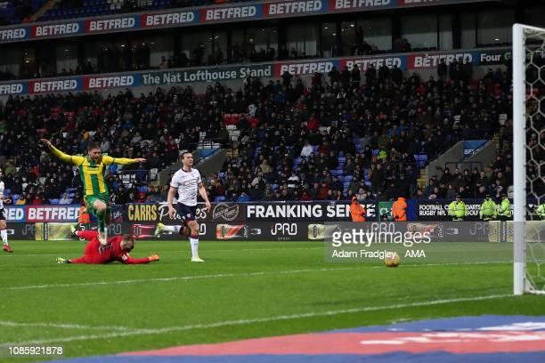 Sam Field of West Bromwich Albion scores a goal to make it 02 during the Sky Bet Championship match between Bolton Wanderers and West Bromwich Albion...