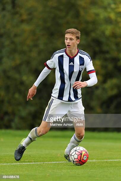 Sam Field of West Bromwich Albion U18 during the U18 Premier League match between West Bromwich Albion and Everton on October 24 2015 in West...