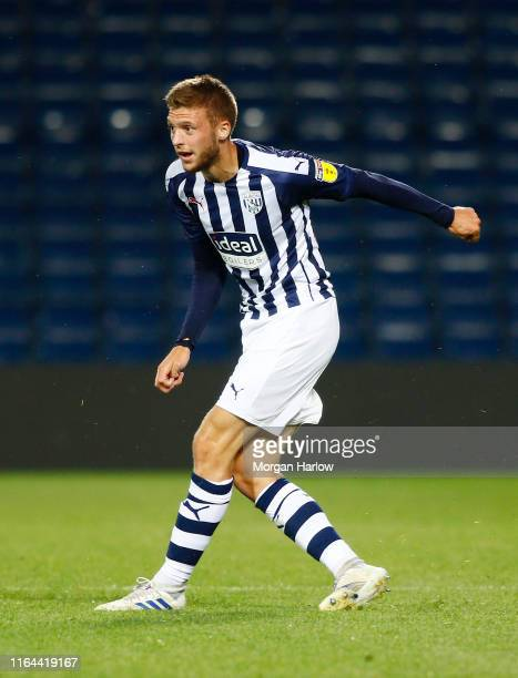 Sam Field West Bromwich Albion in action during the PreSeason Friendly match between West Bromwich Albion and Bournemouth at The Hawthorns on July 26...