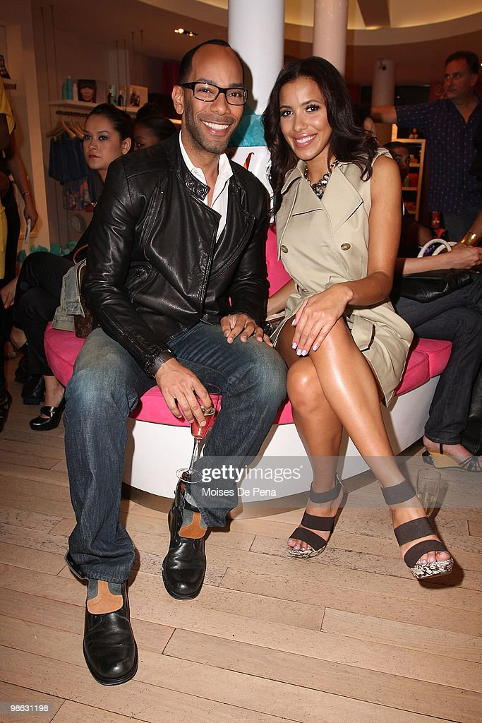 Sam Fine, Media Personality Julissa Bermudez attends the 'Cuts Of Our Infirmities' book launch party at the Tracy Reese Boutique on April 22, 2010 in New York City.