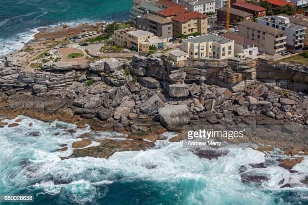 Sam Fiszman Park, North Bondi Rocks, Sydney, Aerial Photography