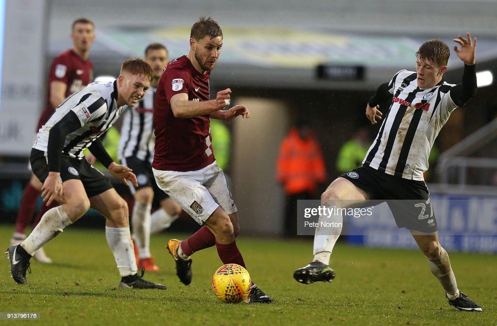 Northampton Town v Rochdale - Sky Bet League One : News Photo