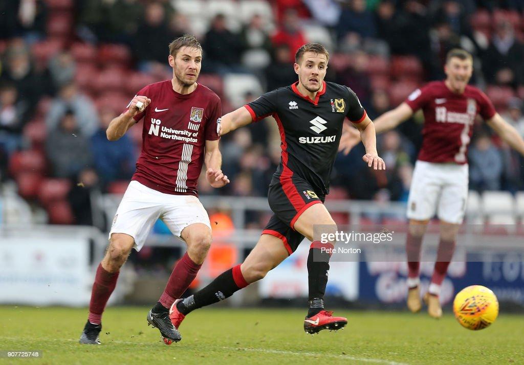 Northampton Town v Milton Keynes Dons - Sky Bet League One