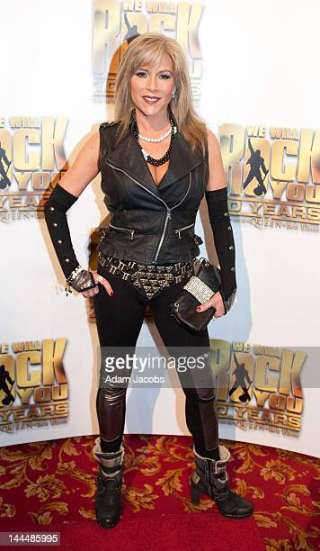 Sam Fox attends the We Will Rock You 10 Year Anniversary Celebrations at The Dominion Theatre on May 142012 in London