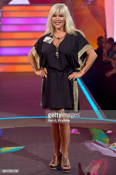 Sam Fox enters the Big Brother House as Celebrity Big Brother launches at Elstree Studios on July 28, 2016 in Borehamwood, England.