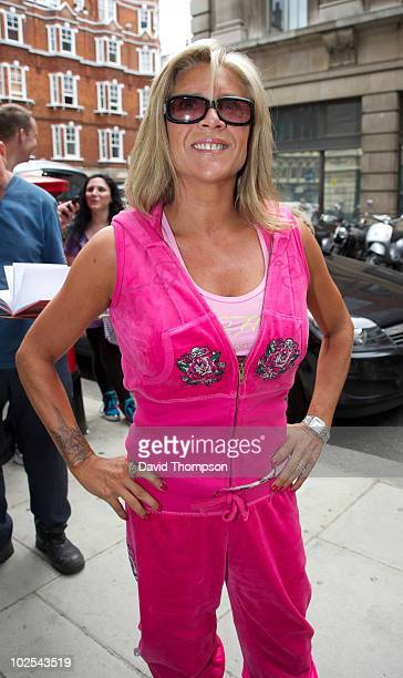 Sam Fox is sighted outside the Radio 2 studios on June 30, 2010 in London, England.