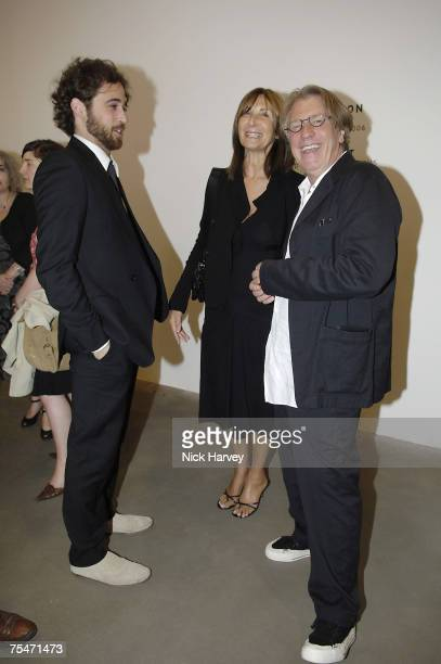 Sam from Gagosian Gallery Frank Cohen and his wife