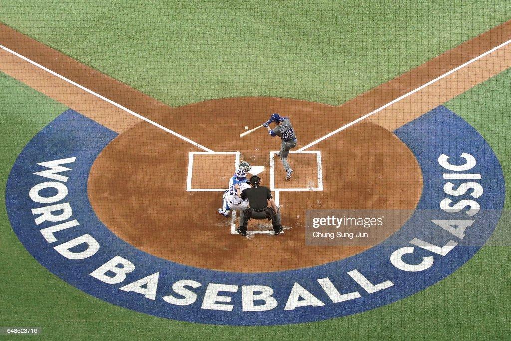 KOR: World Baseball Classic - Pool A - Game 1 - Israel v South Korea