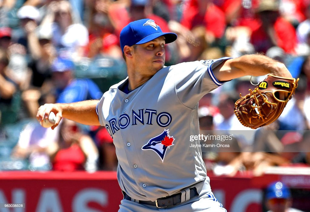 Toronto Blue Jays v Los Angeles Angels of Anaheim
