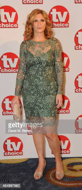 Sam Giles attends the TV Choice Awards 2014 at the London Hilton on September 8 2014 in London England