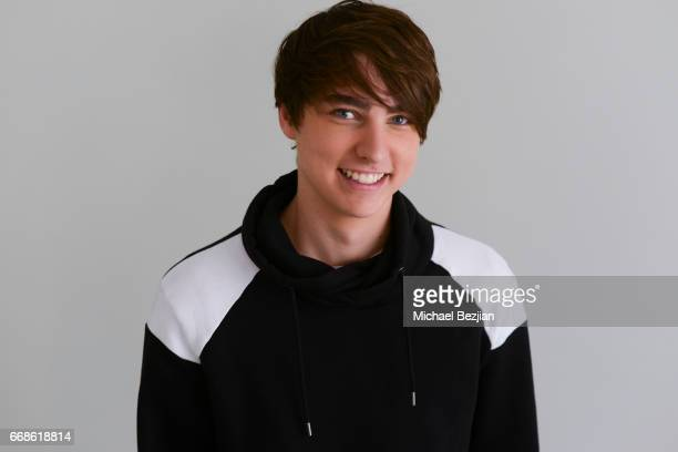 Sam Golbach poses for portrait at The Artists Project on April 12 2017 in Los Angeles California