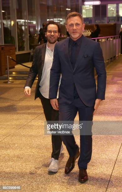 Sam Gold and Daniel Craig attend the 2017 Drama Desk Awards at Town Hall on June 4 2017 in New York City