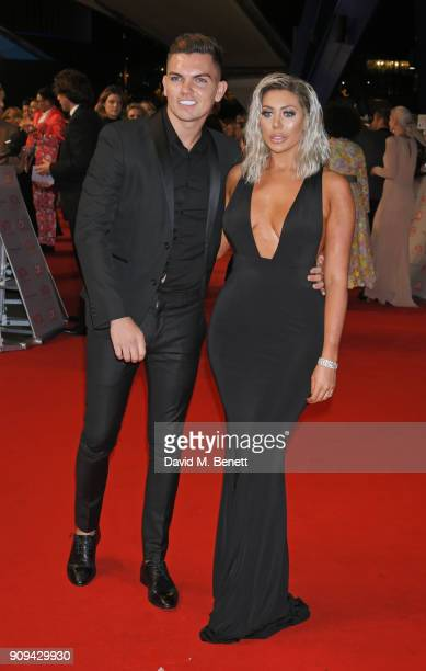 Sam Gowland and Chloe Ferry attend the National Television Awards 2018 at The O2 Arena on January 23 2018 in London England