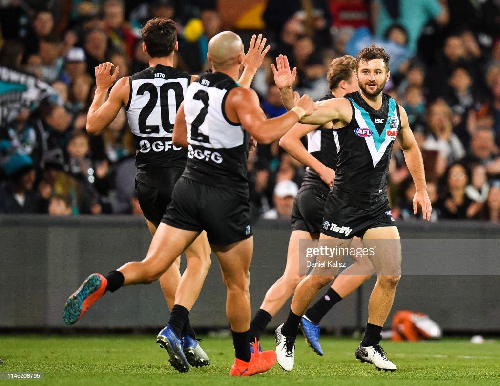 AUS: AFL Rd 6 - Port Adelaide v North Melbourne