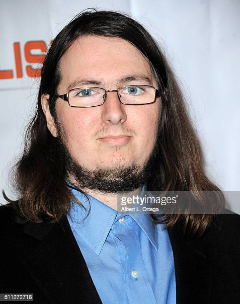 Sam Green of 'Geek Review' arrives for the InfoList PreOscar Soiree And Birthday Party for Jeff Gund held at OHM Nightclub on February 18 2016 in...