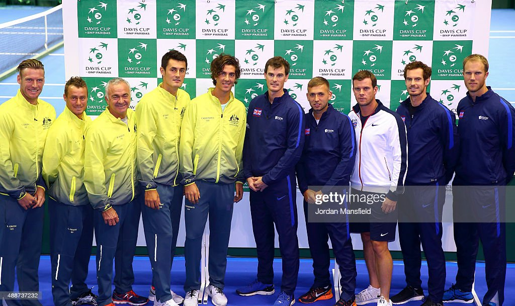 Great Britain v Australia Davis Cup Semi Final 2015 - Previews : News Photo
