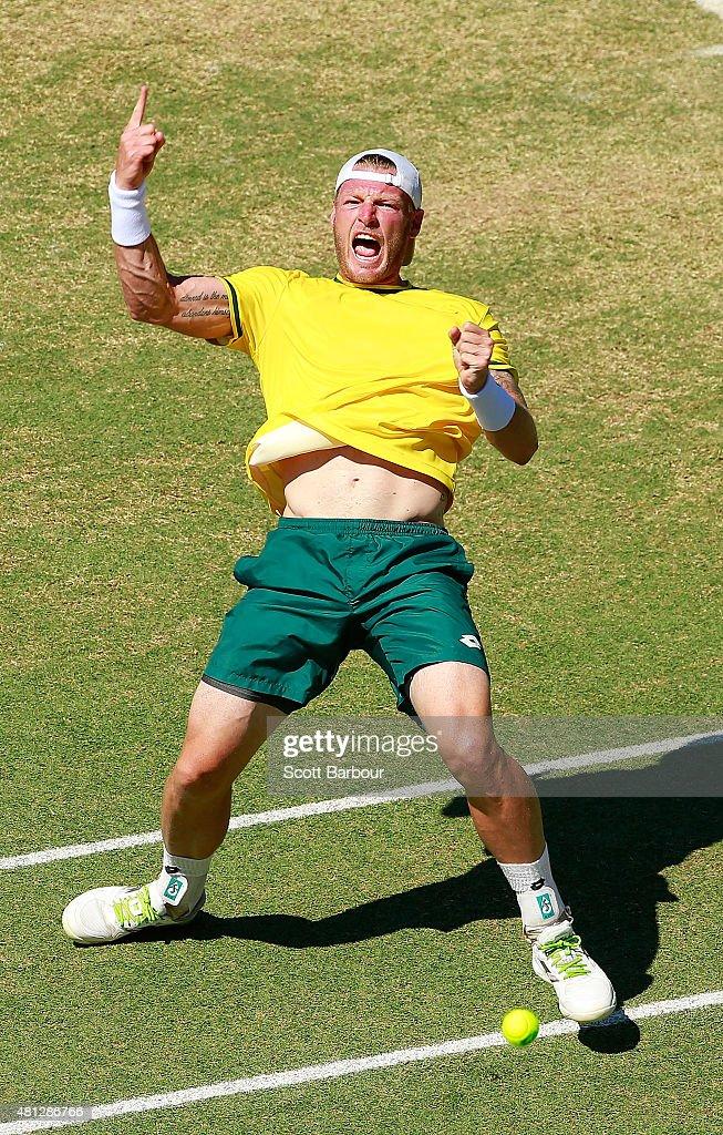 Australia v Kazakhstan - Davis Cup: Day 3