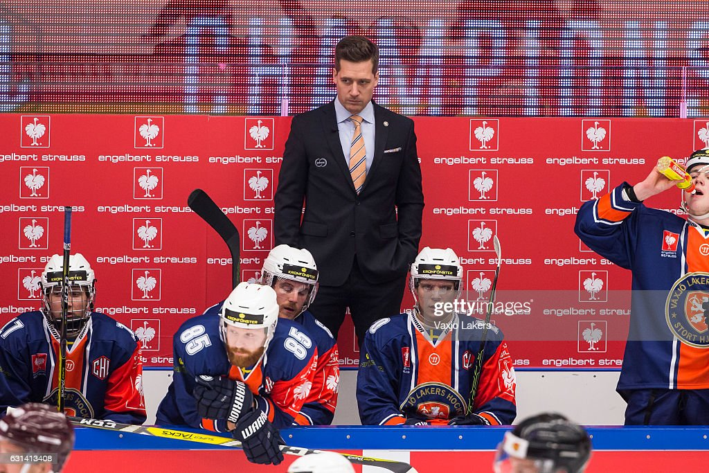 Vaxjo Lakers  v Sparta Prague - Champions Hockey League : News Photo