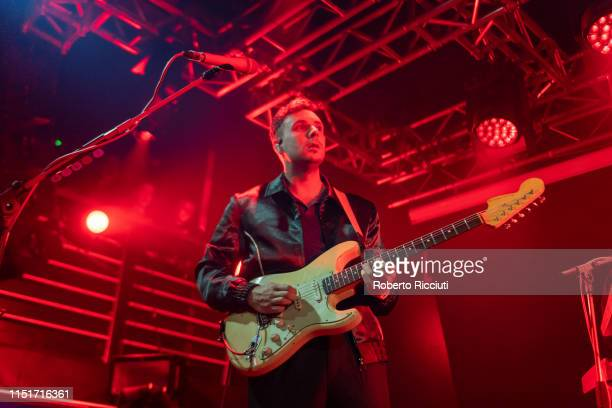Sam Halliday of Two Door Cinema Club performs live on stage at The Liquid Room on June 24 2019 in Edinburgh Scotland