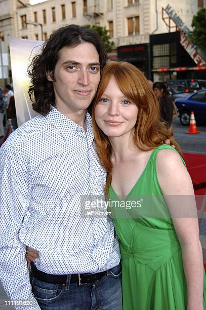 Sam Handel and Lauren Ambrose during HBO's 'Six Feet Under' Season 5 Premiere Red Carpet at Grauman's Chinese Theater in Hollywood California United...