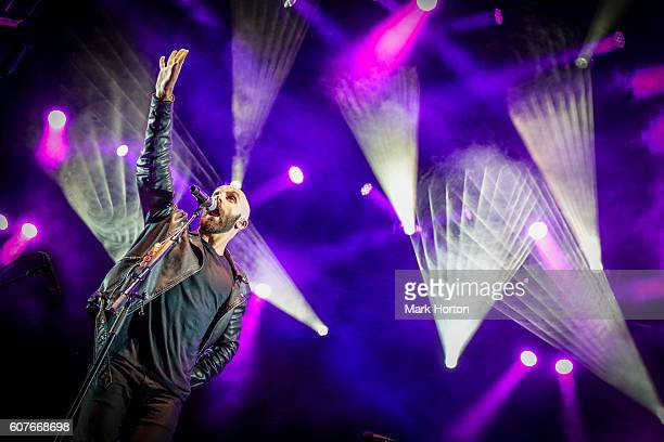 Sam Harris performs with X Ambassadors on Day 4 of the CityFolk Festival at Lansdowne Park on September 18 2016 in Ottawa Canada