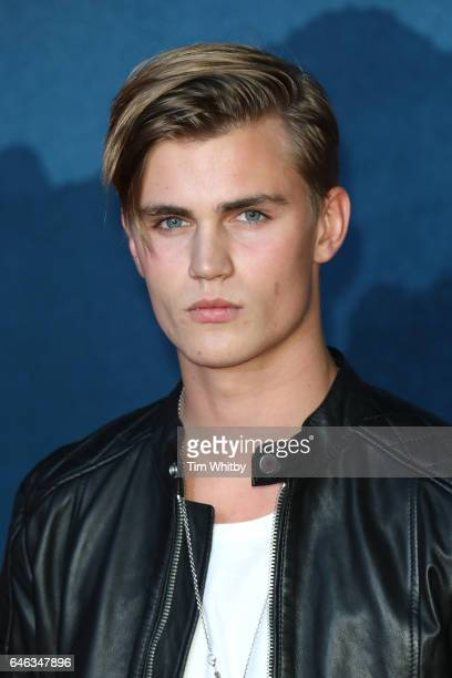 Sam Harwood attends the European premiere Of Kong Skull Island at Cineworld Leicester Sqaure on February 28 2017 in London United Kingdom