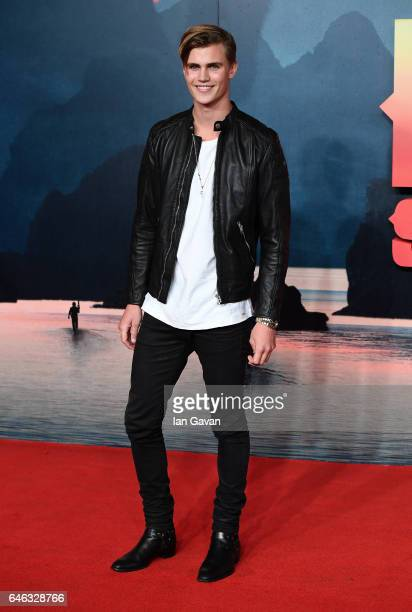 Sam Harwood attends the European premiere of Kong Skull Island at the Cineworld Empire Leicester Square on February 28 2017 in London United Kingdom