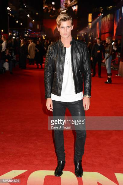 Sam Harwood attends the European premiere of Kong Skull Island on February 28 2017 in London England