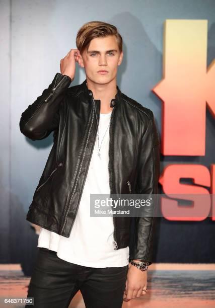 Sam Harwood attends the European premiere Of Kong Skull Island on February 28 2017 in London United Kingdom