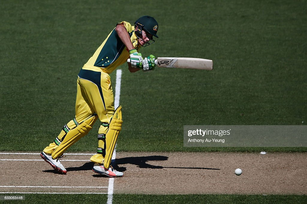New Zealand v Australia - 1st ODI : News Photo