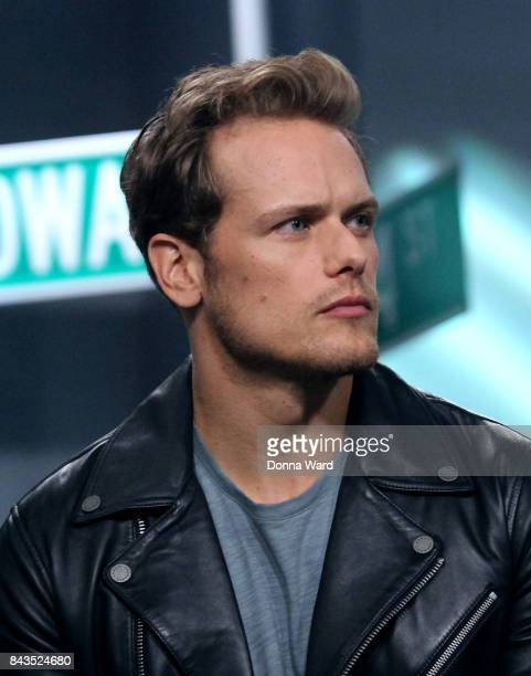 Sam Heughan appears to promote Outlander during the BUILD Series at Build Studio on September 6 2017 in New York City