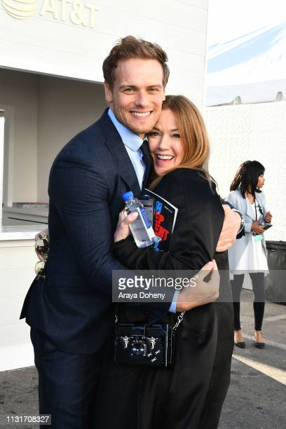 Sam Heughan at the 2019 Film Independent Spirit Awards on February 23 2019 in Santa Monica California