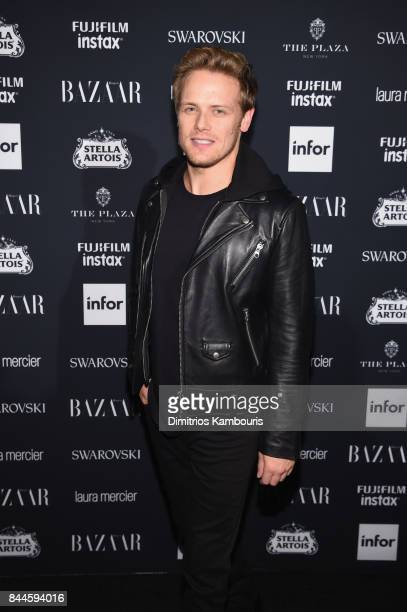 Sam Heughan attends Harper's BAZAAR Celebration of 'ICONS By Carine Roitfeld' at The Plaza Hotel presented by Infor Laura Mercier Stella Artois...